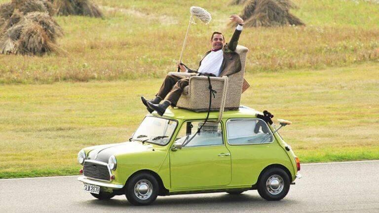 Mr Bean's Leyland Mini Cooper
