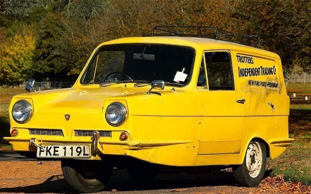 The Reliant Regal from Only Fools & Horses