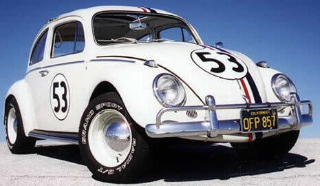 Herbie, the Volkswagen Beetle
